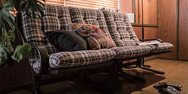 布張りソファーのイメージ