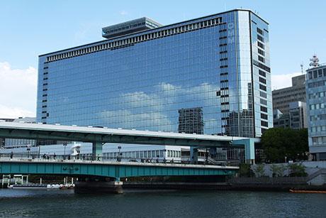 フランスベッド大阪ショールームが入っているOMMビル