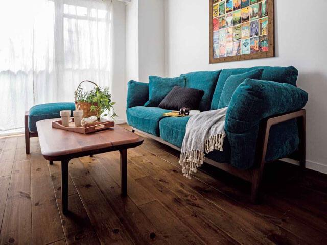 布張りや本革張りなど、多種多様なソファーが大集合!
