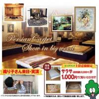 テーブルクロスや壁掛け、ベッドカバーやソファーカバーに活用できるペルシャ絨毯サラサ